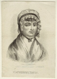 Catherine Hayes (née Hall), by John Chapman - NPG D34577