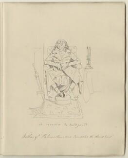 Charles Maurice de Talleyrand-Périgord, Prince de Benevento, after Daniel Maclise - NPG D34549