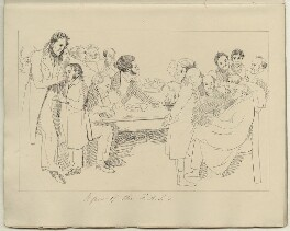 'A few of the Fellows of the Society of Antiquaries', after Daniel Maclise - NPG D34553