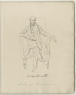 William Wordsworth, after Daniel Maclise - NPG D34554