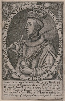 King Henry V, by Renold or Reginold Elstrack (Elstracke), after  Unknown artist - NPG D9397