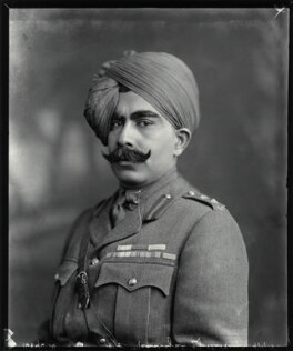 Ganga Singh, Maharaja of Bikaner, by Vandyk, 9 January 1915 - NPG x74764 - © National Portrait Gallery, London