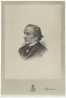 William Ewart Gladstone, by Morris & Co, after  Charles William Walton - NPG D34515