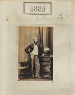 Sir Francis Galton, by Camille Silvy - NPG Ax54893