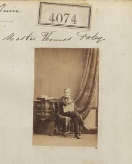 Thomas Weller-Poley, by Camille Silvy - NPG Ax54089