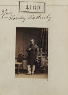 Worsley Battersby, by Camille Silvy - NPG Ax54115