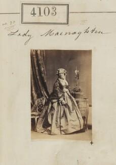 Mary Anne (née Gwatkin), Lady Workman-Macnaghten, by Camille Silvy - NPG Ax54118