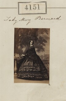 Lady Mary Catherine Henrietta Aldworth (née Bernard), by Camille Silvy - NPG Ax54166