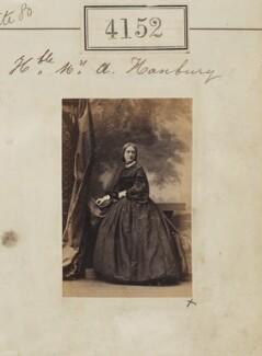 Mary Ward Bateman-Hanbury (née Davenport), by Camille Silvy - NPG Ax54167