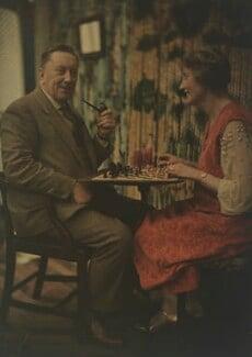 Katharine Legat (née Edis); Sir Eric Campbell Geddes, by Olive Edis - NPG x132476