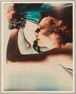 Edith Ellaline Brougham (née Teichman), Lady Brougham and Vaux ('Mrs Richard Hart-Davis as Ariel'), by Madame Yevonde, 1935 - NPG  - © National Portrait Gallery, London