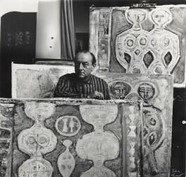 Massimo Campigli (né Max Ihlenfeld), by Ida Kar, late 1950s - NPG  - © National Portrait Gallery, London