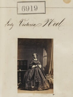 Lady Victoria Buxton (née Noel), by Camille Silvy - NPG Ax56838