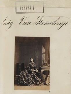 Charlotte Louisa (née Richardson), Lady van Straubenzee, by Camille Silvy - NPG Ax56909