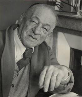 Blaise Cendrars (né Frédéric Louis Sauser), by Ida Kar - NPG x132484