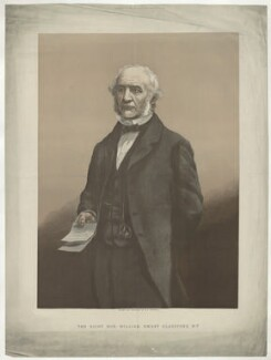 William Ewart Gladstone, by William Biscombe Gardner, published by  Illustrated London News - NPG D34527