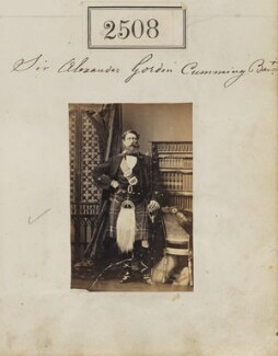 Sir Alexander Penrose Gordon-Cumming, 3rd Bt, by Camille Silvy - NPG Ax51897