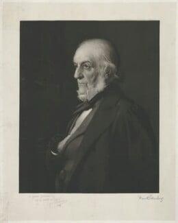 William Ewart Gladstone, by Frank Sternberg, published by and after  Henry Jones Thaddeus (Henry Thaddeus Jones) - NPG D34528