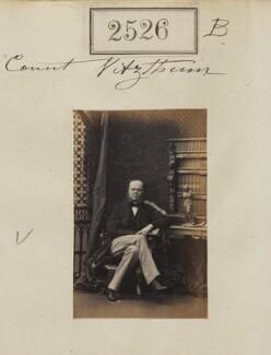 Carl, Count Vitzthum von Eckstädt, by Camille Silvy - NPG Ax51915