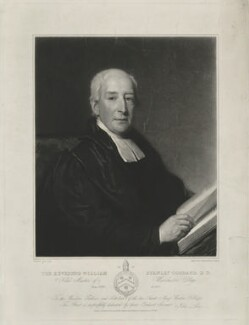 William Stanley Goddard, by Samuel Cousins, and by  Henry Cousins, published by and after  John Lucas - NPG D34581
