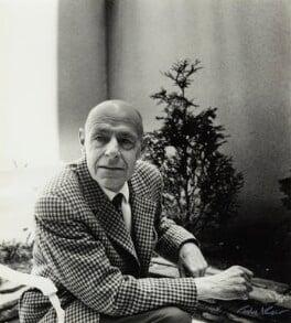 Jean Philippe Arthur Dubuffet, by Ida Kar - NPG x132497