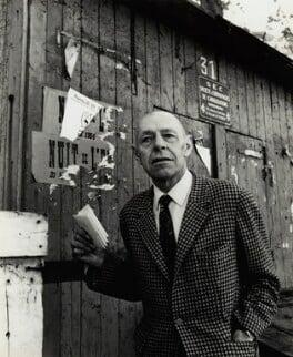 Jean Philippe Arthur Dubuffet, by Ida Kar - NPG x132499