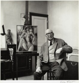 Marcel Gromaire, by Ida Kar - NPG x132509