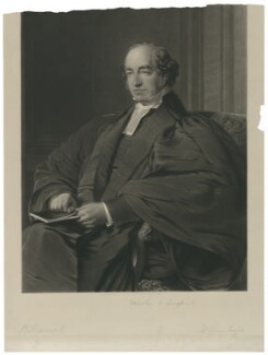 Charles Old Goodford, by Thomas Oldham Barlow, published by  R. Ingalton Drake, after  Robert Hannah - NPG D34596