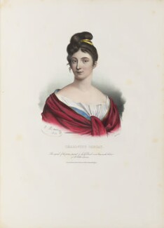 Marie Anne Charlotte Corday d'Armont, by Antoine Maurin, printed by  François Le Villain, published by  Edward Bull, published by  Edward Churton, after  Jacques Louis David - NPG D34623