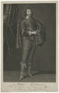 Arthur Goodwin, by Pieter Stevens van Gunst, after  Sir Anthony van Dyck - NPG D34601