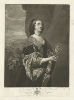 Jane Goodwin (née Wenman), by and published by Josiah Boydell, after  Sir Anthony van Dyck - NPG D34602
