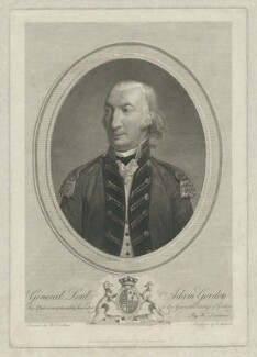 Lord Adam Gordon, by Philipp Audinet, published by and after  Henri-Pierre Danloux - NPG D34604