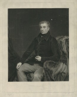 George Gordon, 5th Duke of Gordon, by Charles Turner, after  J. McKenzie - NPG D34608