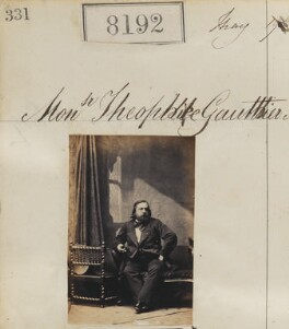 (Pierre Jules) Théophile Gautier, by Camille Silvy - NPG Ax58011