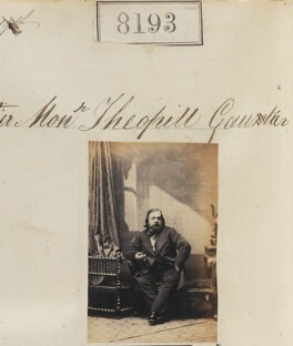 (Pierre Jules) Théophile Gautier, by Camille Silvy - NPG Ax58012