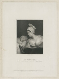 Millicent Ann Mary Kennedy-Erskine; Lady Augusta Kennedy-Erskine, by Thomas Anthony Dean, published by  Edward Bull - NPG D34637