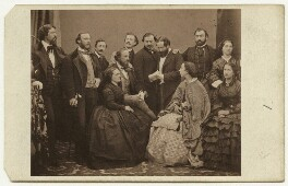 'The Italian Opera Company', by Nelson & Marshall, published by  Richard Burton & Co - NPG x20491