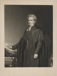 Thomas Dale, by William Overend Geller, after  John Lucas - NPG D34494
