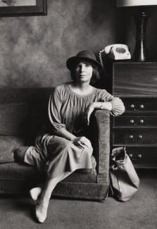 Dame Margaret Drabble, by Jane Bown - NPG x31077