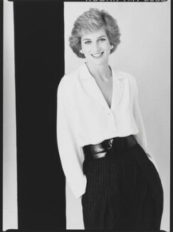Diana, Princess of Wales, by David Bailey - NPG x32748