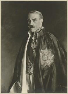 George Joachim Goschen, 2nd Viscount Goschen, by Paul Laib, after  Sir Oswald Birley - NPG D34642