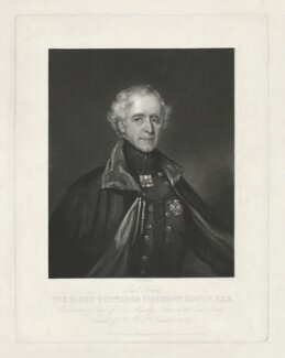 Hugh Gough, 1st Viscount Gough, by John Richardson Jackson, published by  Henry Graves & Co - NPG D34645