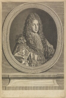 Prince James Francis Edward Stuart, by Louise Madeleine Cochin (née Horthemels), after  Alexis Simon Belle - NPG D34695