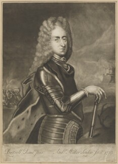 Prince James Francis Edward Stuart, by Andrew Miller, after  Edward Lutterell (Luttrell) - NPG D34697