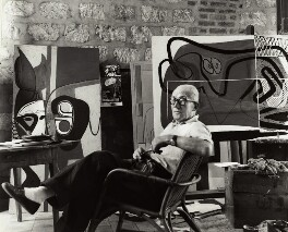 Le Corbusier, by Ida Kar - NPG x132555