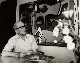 Le Corbusier, by Ida Kar, 1954 - NPG x132556 - © National Portrait Gallery, London