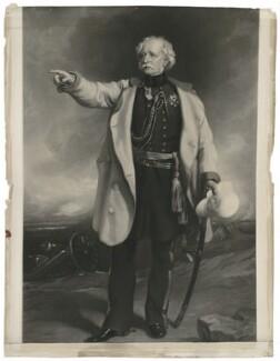 Hugh Gough, 1st Viscount Gough, after Sir Francis Grant - NPG D34648