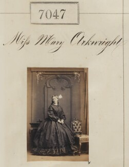 Mary Bosanquet (née Arkwright), by Camille Silvy - NPG Ax56963