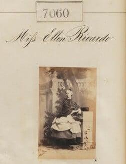 Ellen Maud (née Ricardo), Lady Bruce, by Camille Silvy - NPG Ax56976