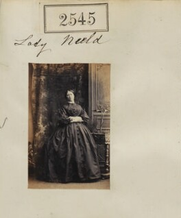 Eliza Harriet (née Dickson), Lady Neeld, by Camille Silvy - NPG Ax51934
